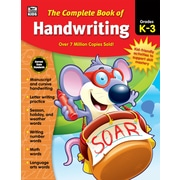 "Thinking Kids ""The Complete Book of Handwriting"" Grades K-3 Workbook (704930)"