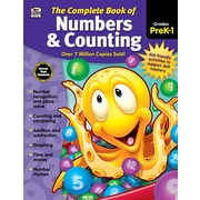 Thinking Kids The Complete Book of Numbers and Counting PreK1 Workbook (704933)