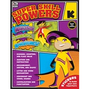 Carson-Dellosa Super Skill Powers K Workbook (704936)