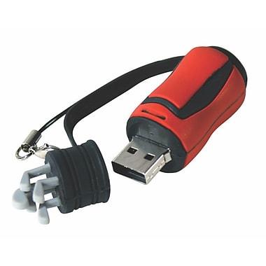 Vision 80-008GBRD 8GB USB, Golf Bag, Red