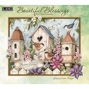 LANG Bountiful Blessings 2017 Wall Calendar (17991001897)
