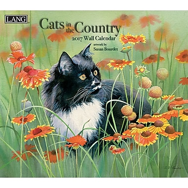 LANG 2017 Wall Calendar: Cats in the Country, (17991001899)