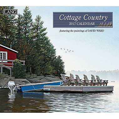 LANG 2017 Wall Calendar: Cottage Country, (17991001902)