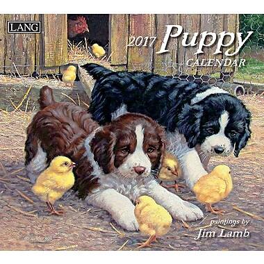 LANG 2017 Wall Calendar: Puppy, (17991001937)