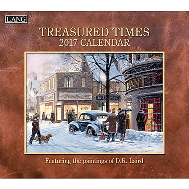 LANG 2017 Wall Calendar: Treasured Times, (17991001882)