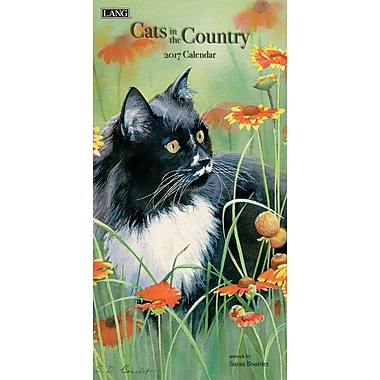 LANG 2017 Vertical Wall Calendar: Cats in the Country, (17991079115)