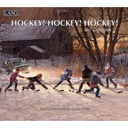 LANG Hockey Hockey Hockey 2017 Wall Calendar (17991001916)