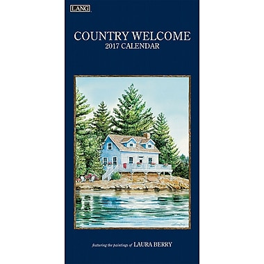 LANG 2017 Vertical Wall Calendar: Country Welcome, (17991079116)