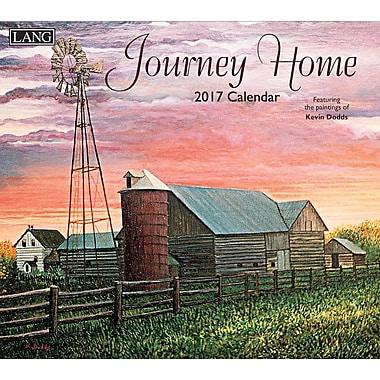 LANG 2017 Wall Calendar: Journey Home, (17991001920)