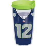 Tervis Tumbler NFL Seattle Seahawks 12th Man Tumbler with Lid; 16 oz.