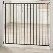 Storkcraft Easy Walk-Thru Tall Metal Safety Gate; Black