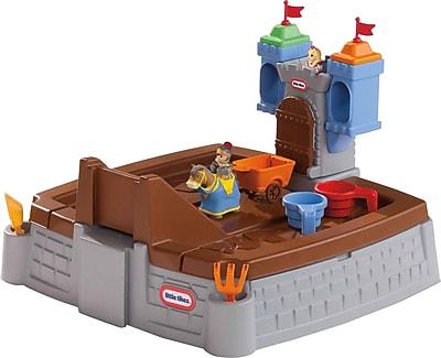 Little Tikes Castle Adventures Rectangular Sandbox WYF078276030403