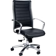 Eurotech Seating Europa High-Back Desk Chair; Black