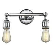 Innovations Lighting 2 Light Bare Bulb Wall Scounce