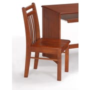 Night & Day Spices Bedroom Clove Mid-Back Desk Chair; Cherry
