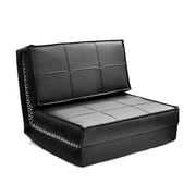 Seventeen Convertible Chair; Black
