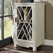 Powell Chippendale End Table; White