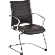 Eurotech Seating Europa Leather Guest Chair; Brown