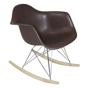 Mod Made Paris Tower Arm Chair; Chocolate