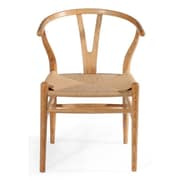 Mod Made W Side Chair; Natural