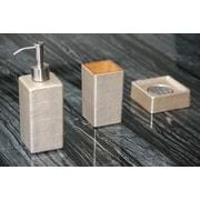 MaestroBath Venice Bathroom Set; Gold / Silver