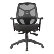 Porthos Home Baxter Mid-Back Mesh Task Chair with Arms; Black