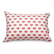 Where the Polka Dots Roam Heart Ultra Mircofiber Pillowcase