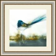 Ashton Wall D cor LLC Birds 'Little Blue II' Framed Painting Print