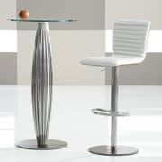 Bellini Modern Living Argenta 31'' Bar Stool; White