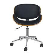 Porthos Home Rylan Desk Chair; Black