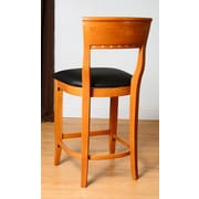 Benkel Seating Biedermier 24'' Bar Stool with Cushion