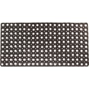 Envelor Home Hollow Rubber Floor Mat; 1'4'' x 2'8''