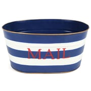 Jayes Horizontal Stripe Mail Bucket