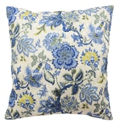 Traditions by Waverly Navarra Floral Decorative Throw Pillow (Set of 2); Porcelain