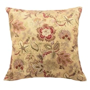 Traditions by Waverly Navarra Floral Decorative Throw Pillow (Set of 2); Antique