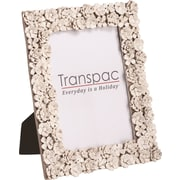 Transpac Imports, Inc Valentine Flower Picture Frame; 5'' x 7''