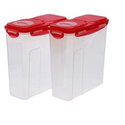 Lock & Lock Cereal Storage (Set of 2); Cherry