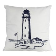 Handcrafted Nautical Decor Lighthouse Decorative Throw Pillow