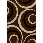 Persian-rugs Chocolate Area Rug; 5'2'' x 7'2''