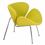 Design Tree Home Lounge Chair; Yellow
