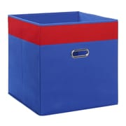 RiverRidge Kids Jumbo Folding Storage Bin; Blue/Red