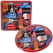 Certified International BBQ Bandit 2 Piece Platter Set
