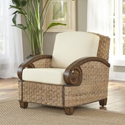 Home Styles Cabana Banana III Arm Chair; Honey