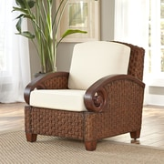 Home Styles Cabana Banana III Arm Chair; Cinnamon