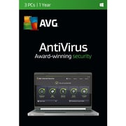 AVG AntiVirus 2016 Software Licensing, 3 Users, Windows, Download (AV16N12EN003)