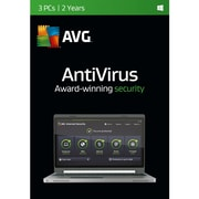 AVG AntiVirus 2016 Software Licensing, 3 Users, Windows, Download (AV16N24EN003)