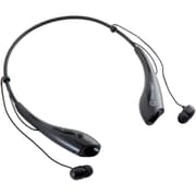 Syba SY-AUD23064 Neck-Hook In Ear Headset, Behind-The-Neck/Earbud, Black