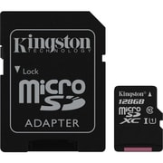 Kingston SDCA3/128GB Class 10 (UHS-I) 128GB microSDXC Flash Memory Card