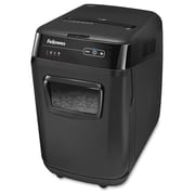 Fellowes AutoMax™ 200C Shredder, 200 Sheet, Cross-Cut, Personal, Black