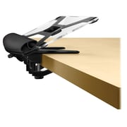 Fellowes 9473401 Steel I-Spire Series™ Desktop Edge Keyboard Lift, Black